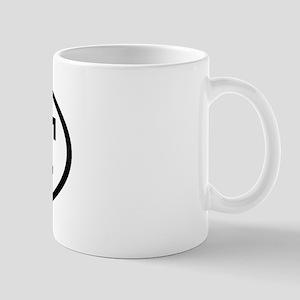 CLT Oval Mug