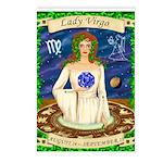 Lady Virgo Postcards (Package of 8)