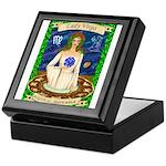 Lady Virgo Keepsake Box