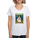 Lady Virgo Women's V-Neck T-Shirt