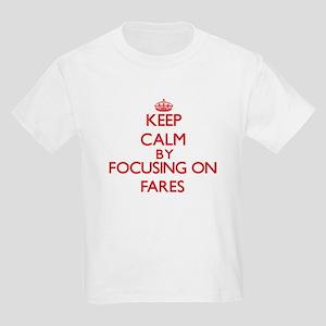 Keep Calm by focusing on Fares T-Shirt