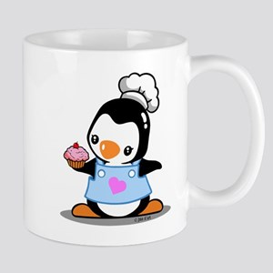 Cooking Penguin Mugs