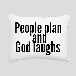 People & God Rectangular Canvas Pillow