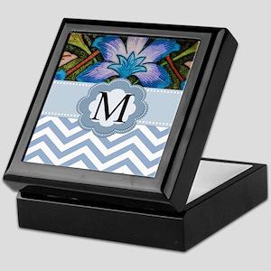 Beautiful Monogrammed Design Keepsake Box