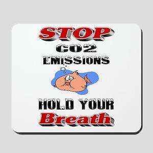 Funny/Humorous Global Warming Mousepad