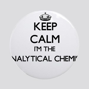 Keep calm I'm the Analytical Chem Ornament (Round)