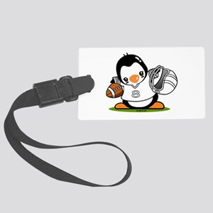 Football Popo (2) Large Luggage Tag
