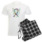Puzzle Ribbon Angel Pajamas