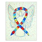 Puzzle Ribbon Angel Posters