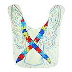 Puzzle Ribbon Angel Bib