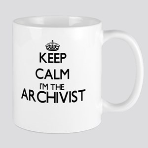 Keep calm I'm the Archivist Mugs