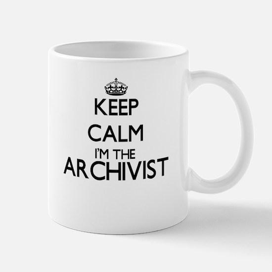 Keep calm I'm the Archivist Mugs