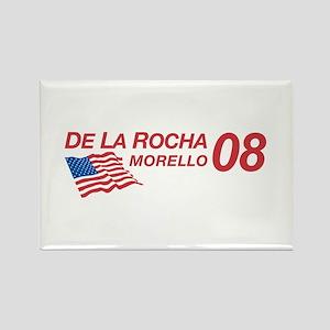 De La Rocha/Morello in 08 Rectangle Magnet