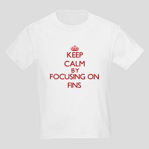 Keep Calm by focusing on Fins T-Shirt