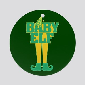 Baby Elf Ornament (Round)