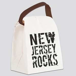 New Jersey Rocks Canvas Lunch Bag