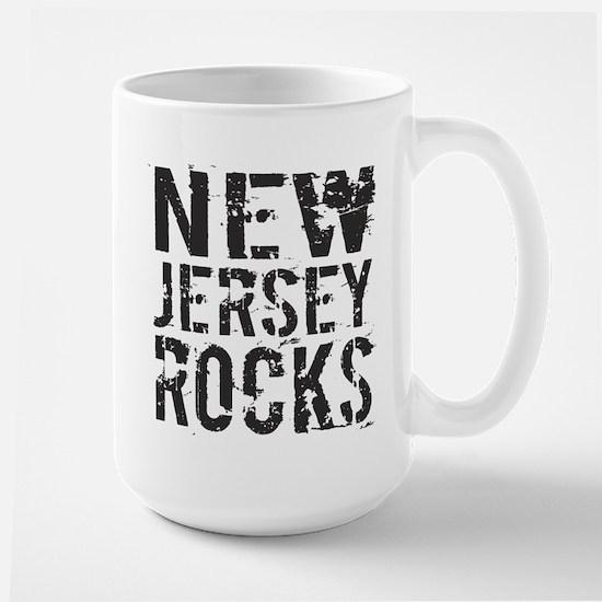 New Jersey Rocks Large Mug
