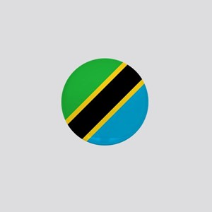 Tanzania Flag Mini Button