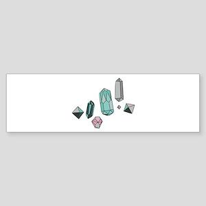 Semiprecious Stones Bumper Sticker