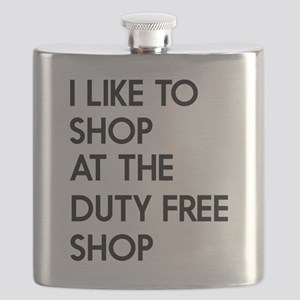 I like to shop at the duty free shop Flask