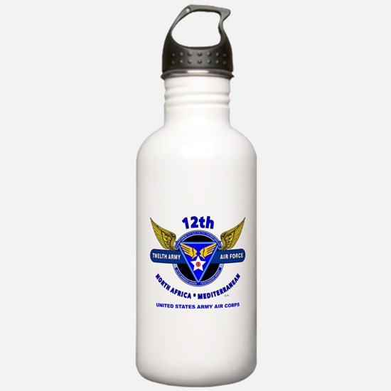 12TH ARMY AIR FORCE *A Water Bottle