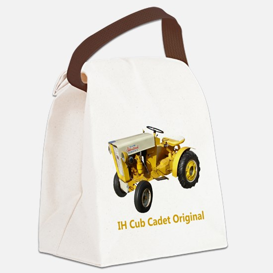 Cool Tractor Canvas Lunch Bag