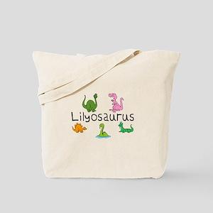 Lilyosaurus Tote Bag