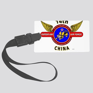 14TH ARMY AIR FORCE, ARMY AIR C Large Luggage Tag