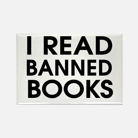 I read banned books Magnets