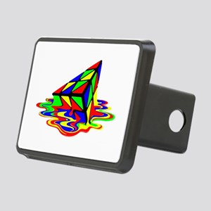 Pyraminx cude painting01B Hitch Cover