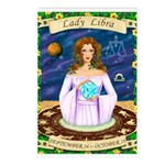 Lady Libra Postcards (Package of 8)