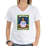 Lady Libra Women's V-Neck T-Shirt