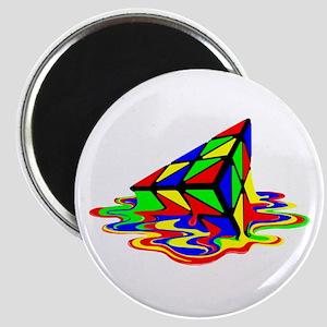 Pyraminx cude painting01B Magnets