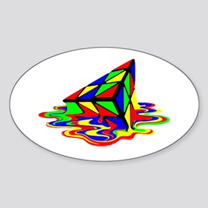 Pyraminx cude painting01B Sticker