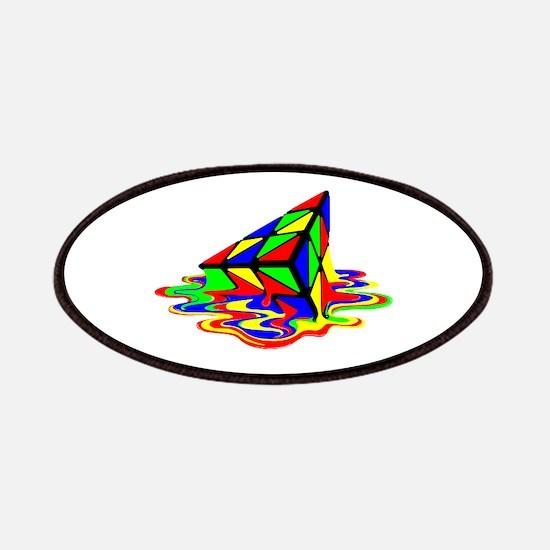 Pyraminx cude painting01B Patches