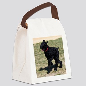 Giant Schnauzer Canvas Lunch Bag