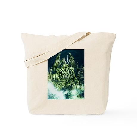 Cthulhu & R'lyeh Tote Bag