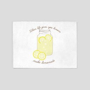 Make Lemonade 5'x7'Area Rug