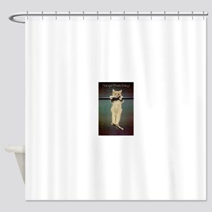 Hang in There Baby! Shower Curtain