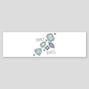 Family Jewels Bumper Sticker