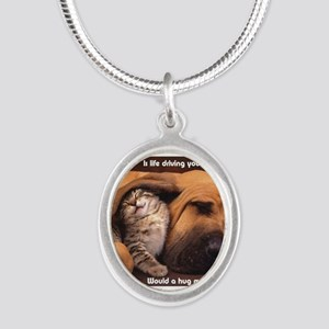 Would a Hug Make Your Day Necklaces