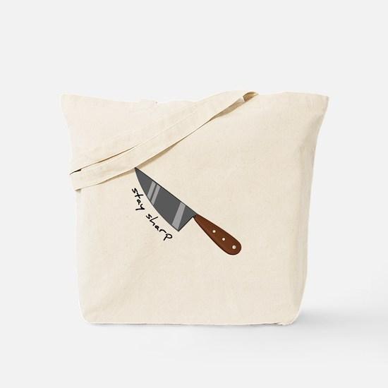 Stay Sharp Tote Bag
