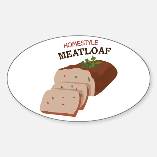 Homestyle Meatloaf Decal