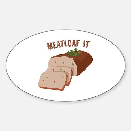 Meatloaf Like Mama Decal