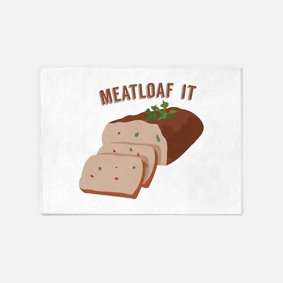 Meatloaf Like Mama 5'x7'Area Rug