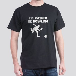 Id Rather Be Bowling T-Shirt