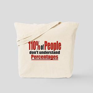 110% of People... Tote Bag