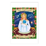 Lady Sagittarius Postcards (Package of 8)