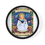 Lady Sagittarius Wall Clock