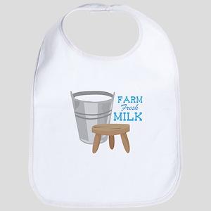 Farm Fresh Milk Bib